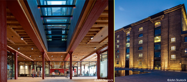 The Granary Building, Granary Square